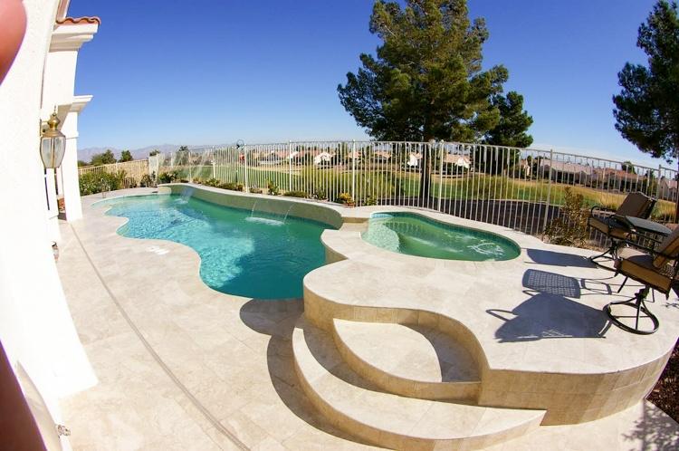 Gilbert pool coping edges